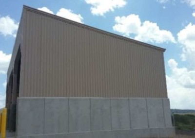 Txdot Oda Reeves Station Salt Shed And Vehicle Shed